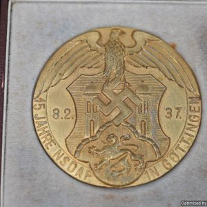 Gottingen 15 year Table medal