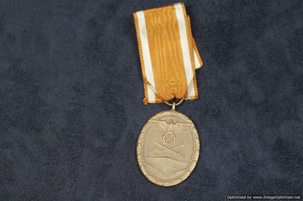 west wall medal nazi