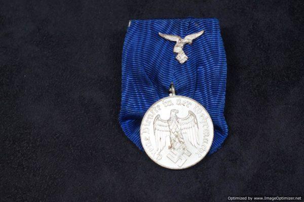 4 year Service award for Luftwaffe Parade mount
