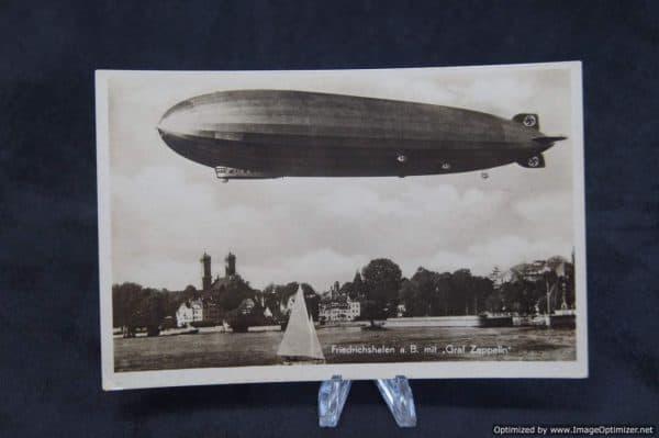 Graf Zeppelin Postcard