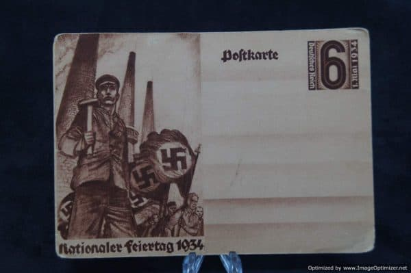 Nationaler Freiertag 1934 Postcard