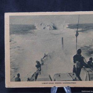 U-boat hunter Post card