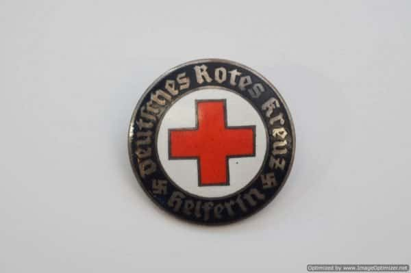 DRK womens helper service badge