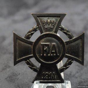 1914 OLDENBURG Friedrich August Cross 1st Class