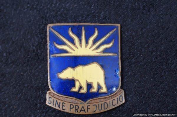 WW2 Era 508th US Military Police DI Pin