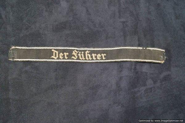 SS Der Furher Cuff Title
