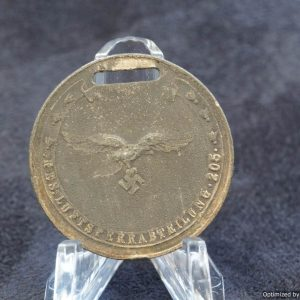 1940 Luftwaffe Medal Reserve-Luftsperr-Abteilung 205 Kriegsweihnacht