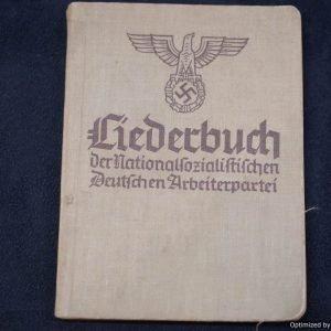 Liederbuch Der NSDAP Song book 1937
