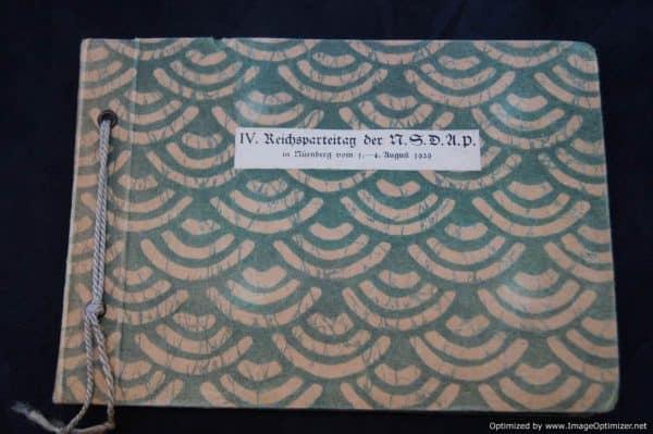 IV (1929) Reichsparteitag Der NSDAP Photo Album