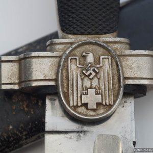 DRK Red Cross Hewer dagger nazi