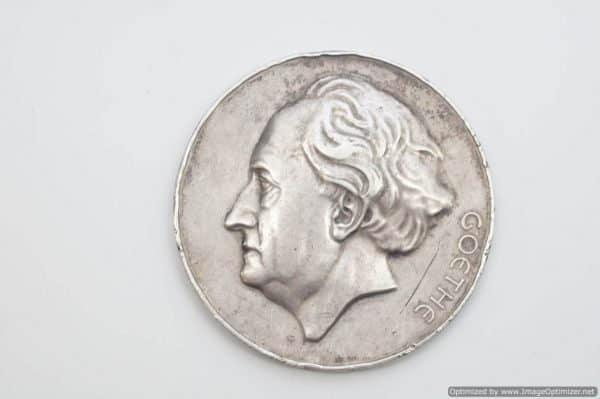 Goethe Medal 1943 Prof Rudolf Meissner