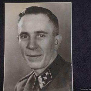 SS Officer photograph