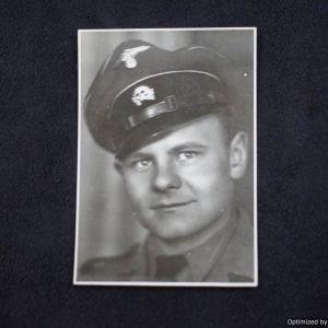 Gestapo SD portrait Early skull