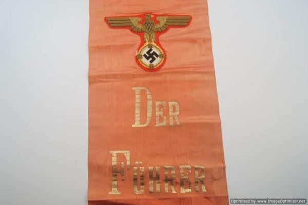 Adolf Hitler Funeral Sash high leader