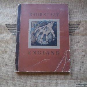 Raubstaat England Cigarette Propaganda Book