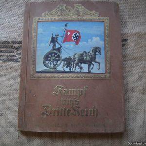 Kampf Um's Dritte Reich Cigarette book