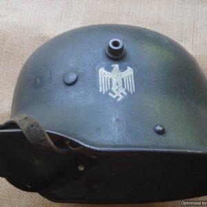 M16/17 Transitional Single decal Heer Helmet