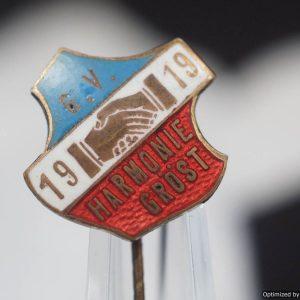 1919 G.V. Harmonie Grost Stick pin WW1