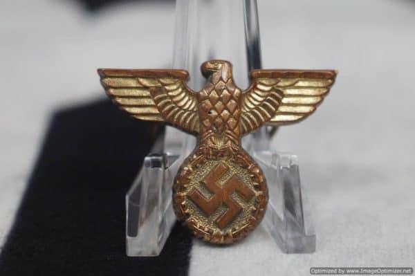 Gold Reichsbahn Visor Eagle