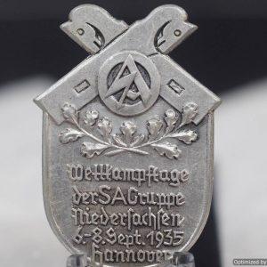Niedersachsen 1935 SA gruppe Tinnie