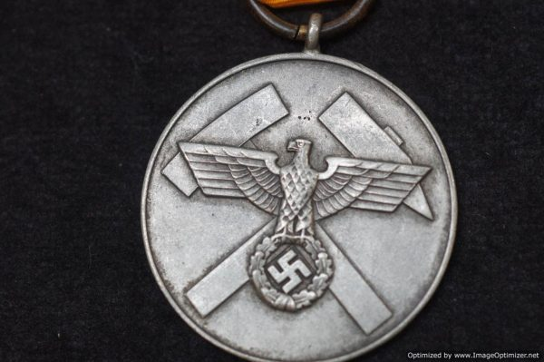 Nazi Mine Rescue medal