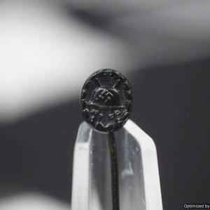 Black Wound Badge stick pin