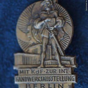 KDF 1938 Handwerksausstellung Tinnie
