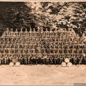 German Infantry class graduation photo 9x6.5