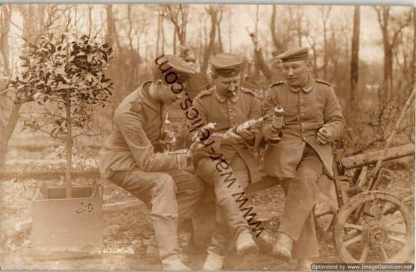 Set of 5 WW1 German /Halle Post Cards