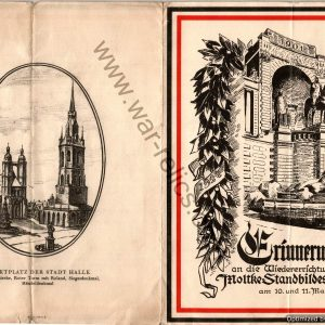 1924 erinnerungsblatt (Memorial guide)