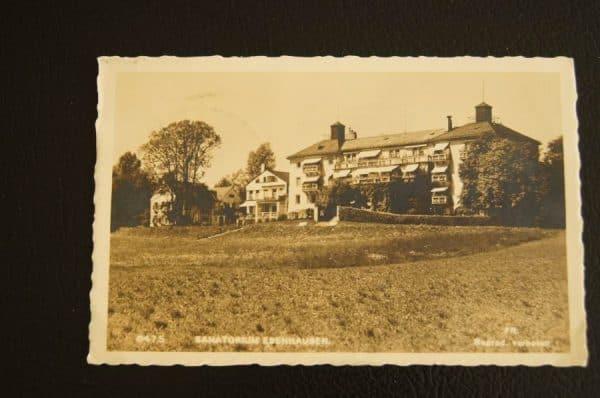 Sanatorium Ebenhausen Postcard 1939
