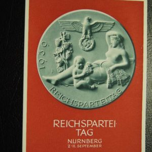 Reichspartei Tag Nurnberg Postcard