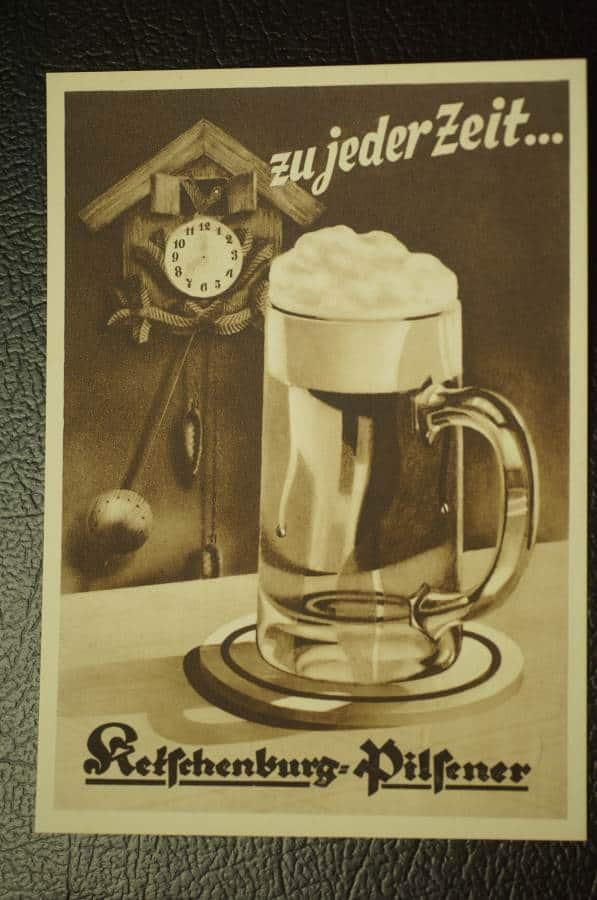 Ketschenburg Pilsener Postcard