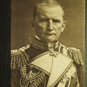 Exzellenz v. Muller WW1 Postcard