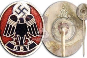 fake nazi DBV pin exposed