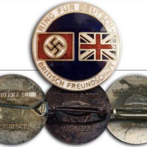 German England Friendship badge