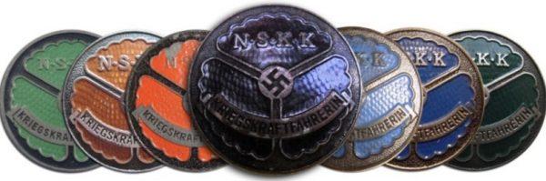 fake NSKK Womens drivers badges