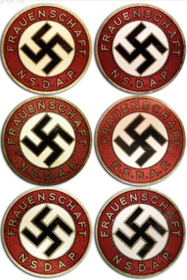 fake NS-Frauenshaft Osang Dresden badges