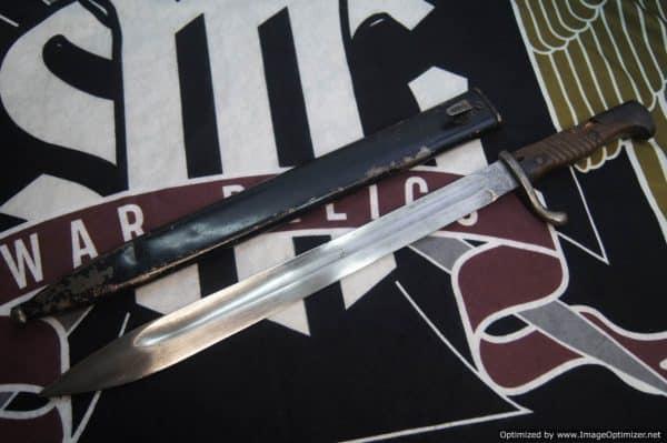German WW1 Butcher Bayonet