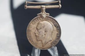 British War Medal -Campaign service WW1 1914-1918 named