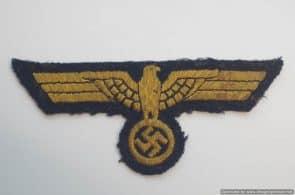 Kriegsmarine breast eagle. Uniform removed