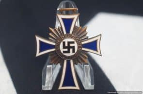SMGL-2768 Mother's Cross in Bronze no ribbon