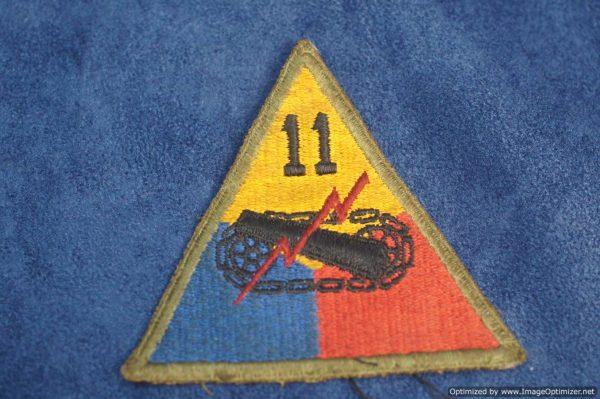 SMGL-287 US 77th Armored Patch WW2 era
