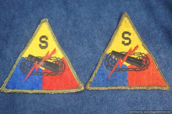 SMGL-2872 US ww2 era Armored School Patch $30
