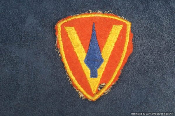 SMGL-2874 US ww2 era 5th Marine Division patch