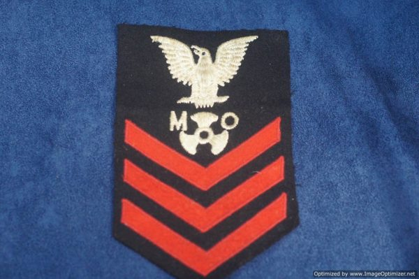 SMGL-2878 US ww2 era Navy Motor Machinist Sergeant