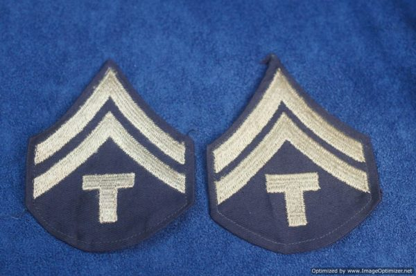 SMGL-2879 US ww2 era Army Specialist Corporal Matched pair