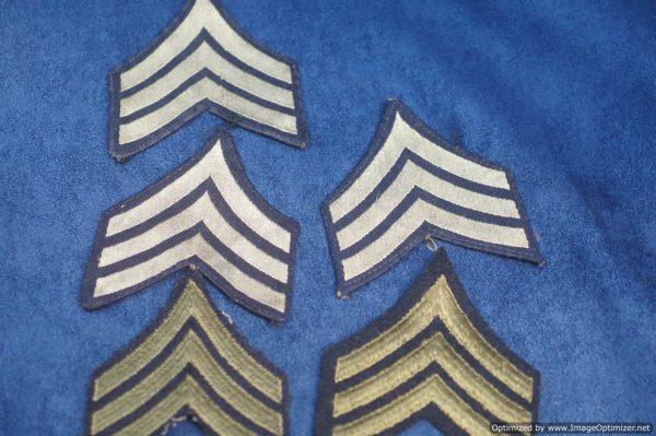 SMGL-2883 US ww2 era Sergeant stripes