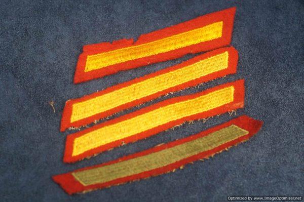 SMGL-2887 US ww2 era Marine Wound stripes $5