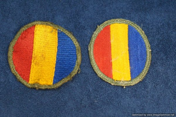 SMGL-2896 US ww2 era Replacement school command Patch